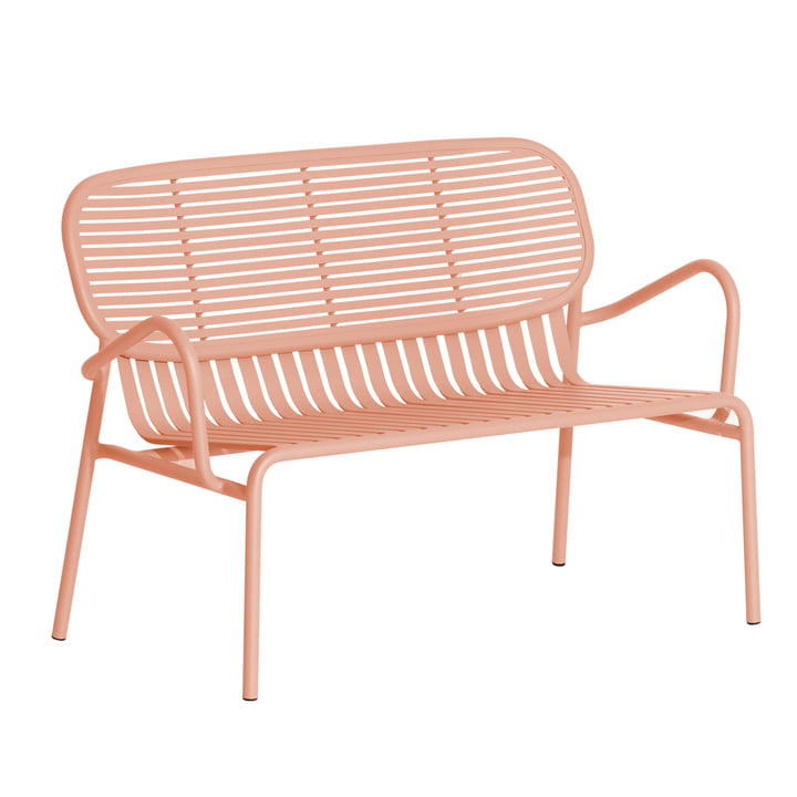 The Week-End Sofa Outdoor from Petite Friture , blush