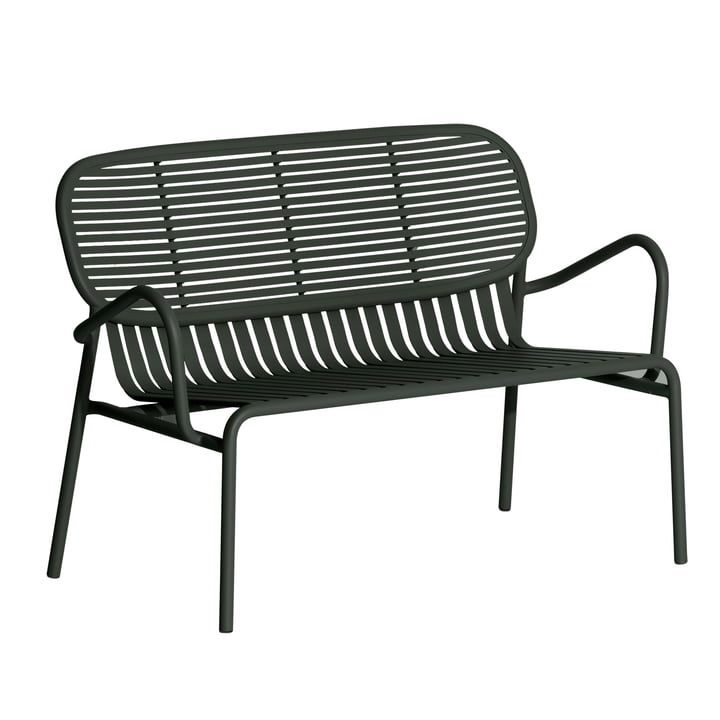 The Week-End Sofa Outdoor from Petite Friture , glass green