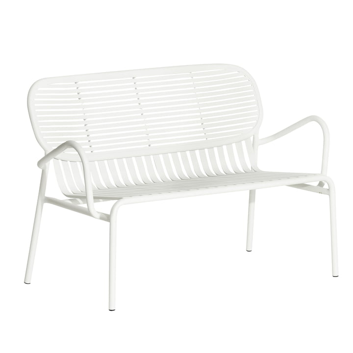 The Week-End Sofa Outdoor from Petite Friture , white