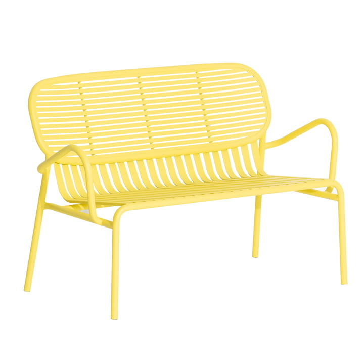 The Week-End Sofa Outdoor from Petite Friture , yellow