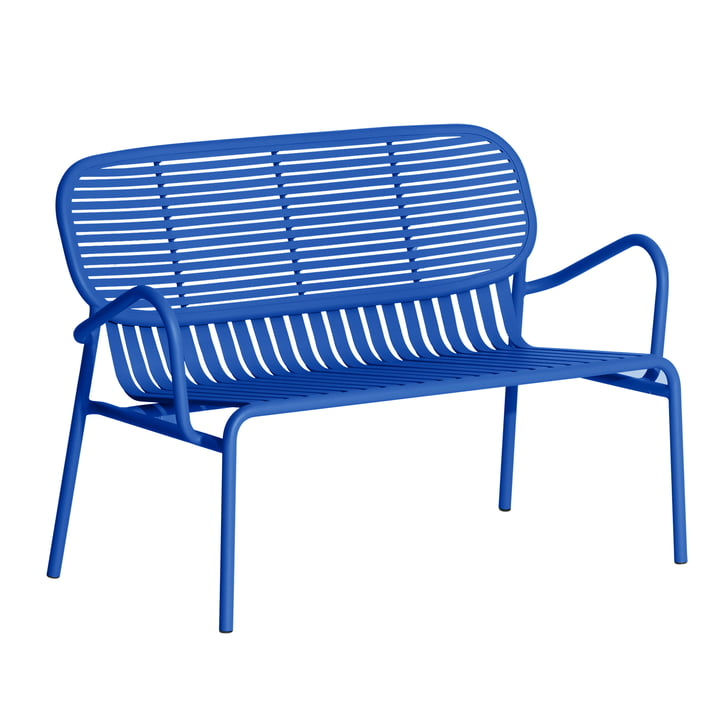 The Week-End Sofa Outdoor from Petite Friture , blue