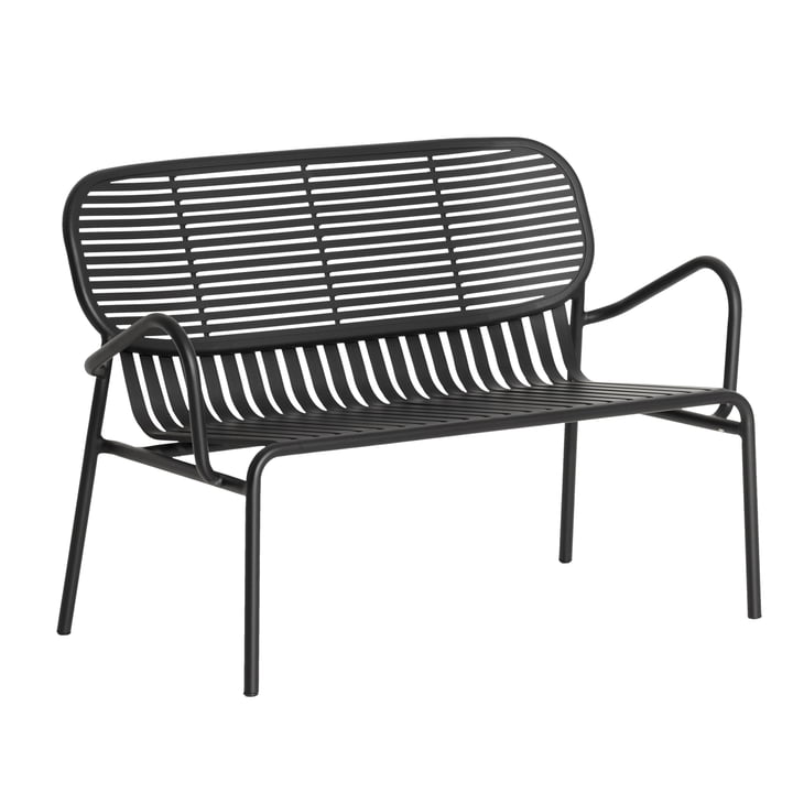 The Week-End Sofa Outdoor from Petite Friture , black