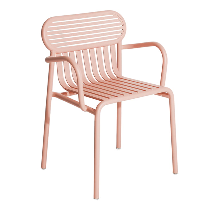 The Week-End Bridge Chair Outdoor from Petite Friture , blush