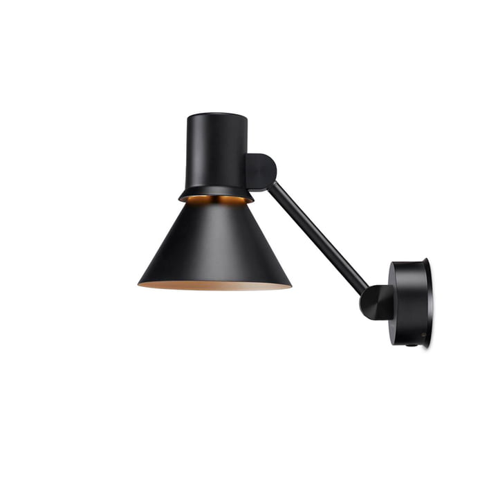 The Type 80 wall lamp W2 from Anglepoise , matt black