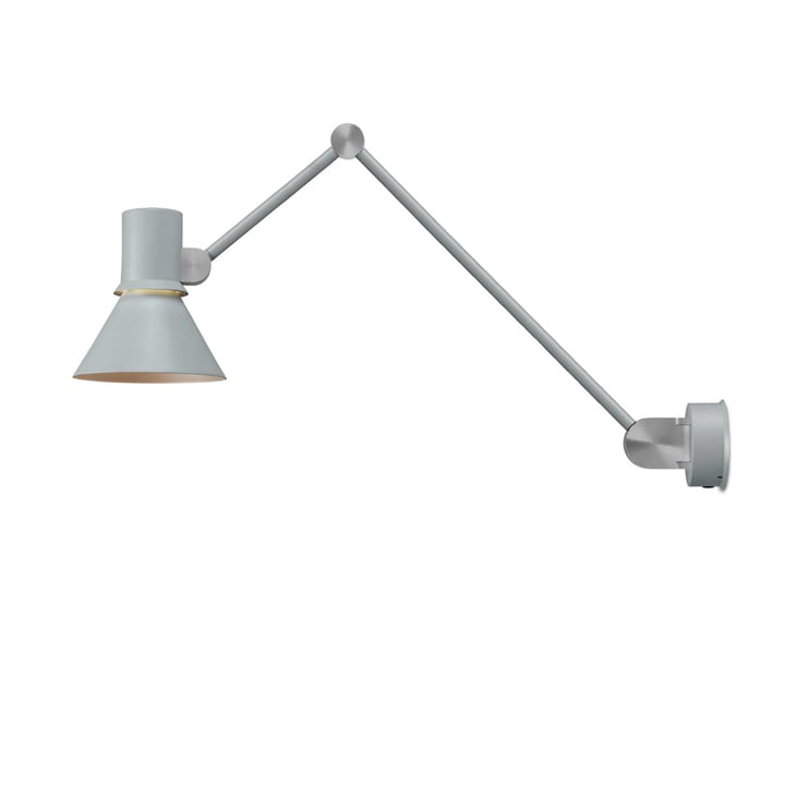 The Type 80 Wall lamp W3 from Anglepoise , Grey Mist