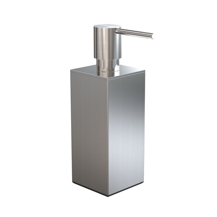 The Quadra Soap dispenser 5 from Frost , 200 ml, brushed stainless steel
