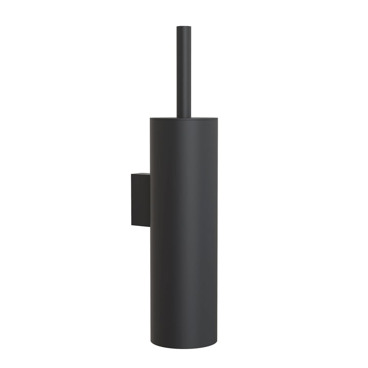 The Nova2 WC brush set (wall mounted) from Frost , black