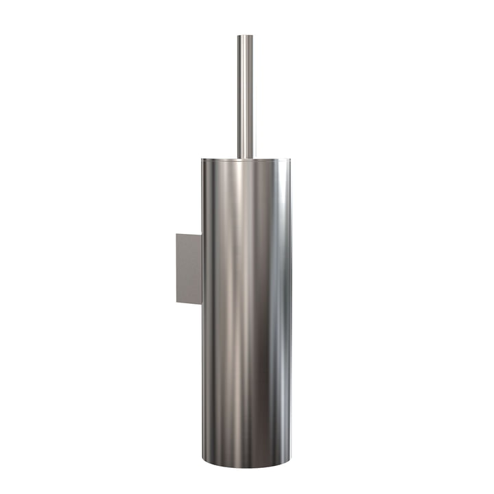 The Nova2 WC brush set (wall mounting) from Frost , brushed stainless steel