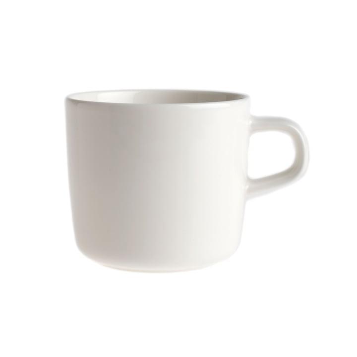 Oiva Mug with handle 200 ml from Marimekko in white