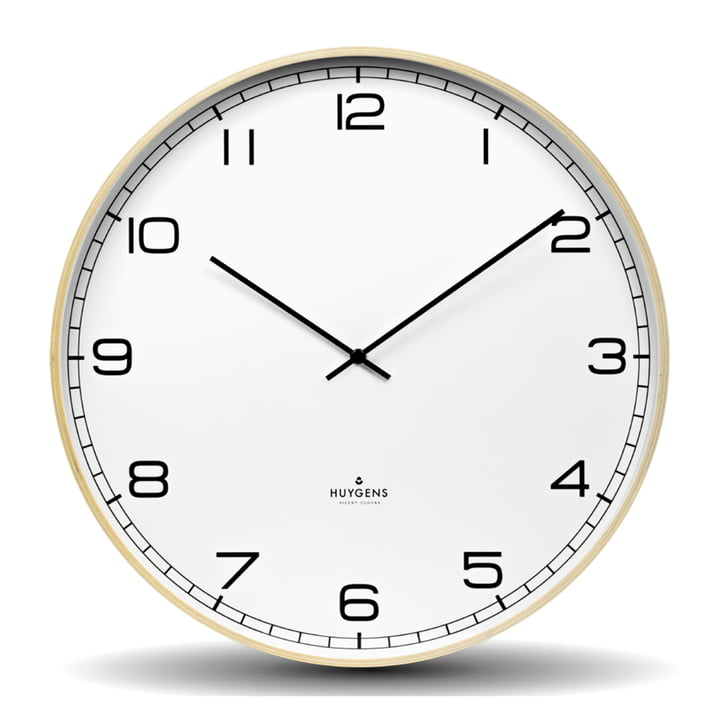 Wood Arabic Wall clock Ø 45 cm from Huygens