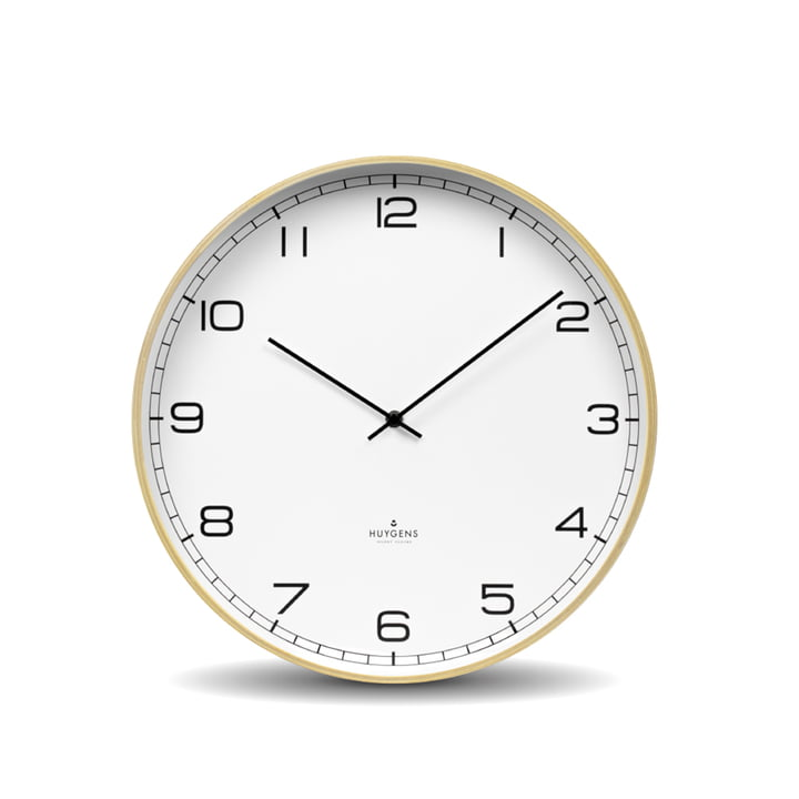 Wood Arabic Wall clock Ø 35 cm from Huygens