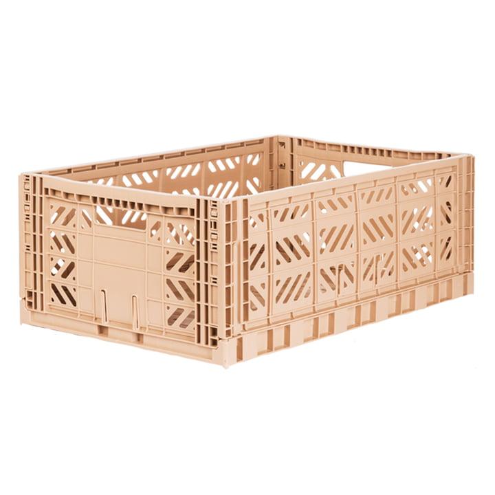 Folding box Maxi 60 x 40 cm from Aykasa in milk tea