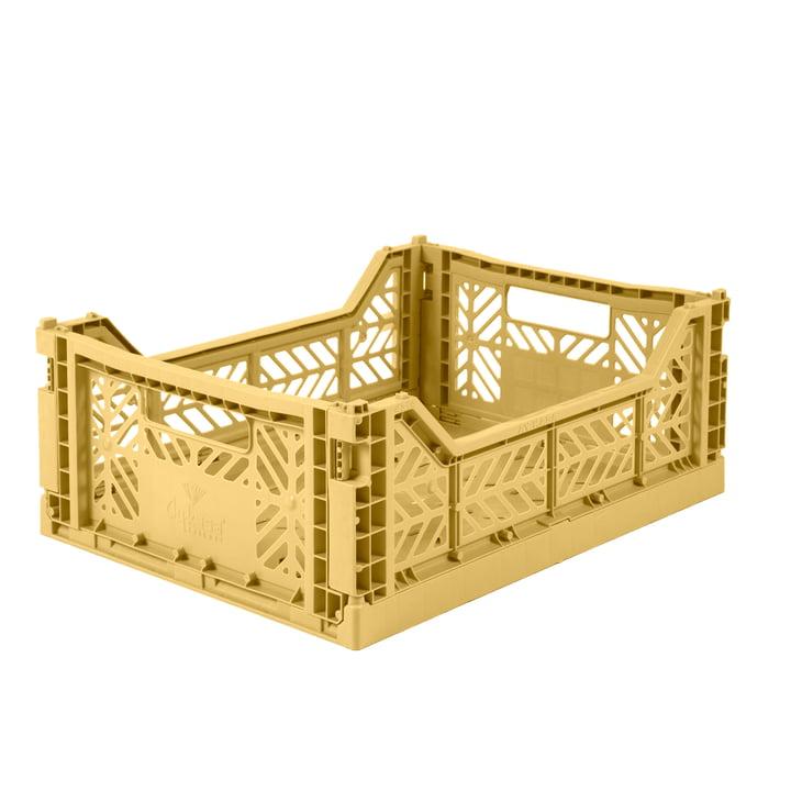 Folding box Midi 40 x 30 cm from Aykasa in gold