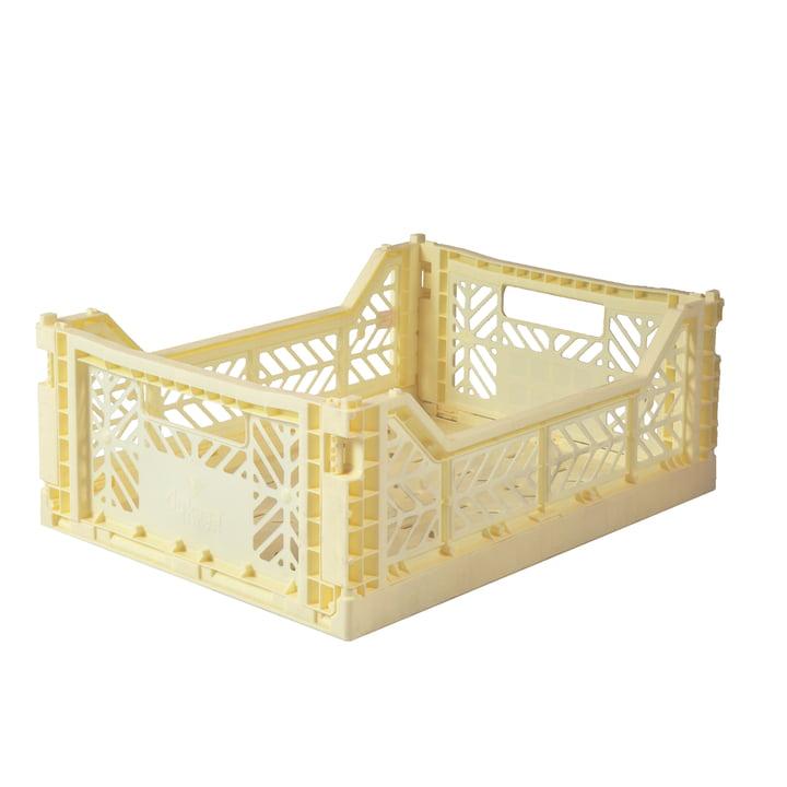Folding box Midi 40 x 30 cm from Aykasa in cream