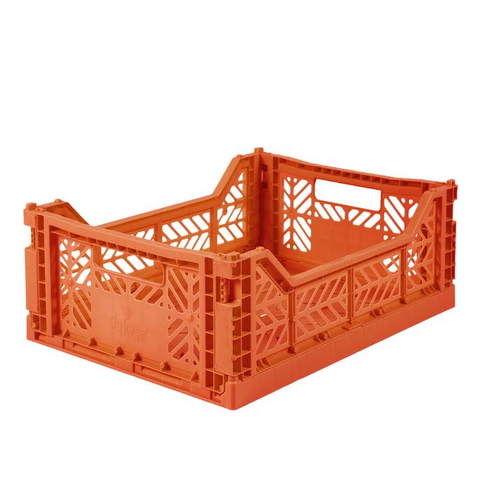 Folding box Midi 40 x 30 cm from Aykasa in orange