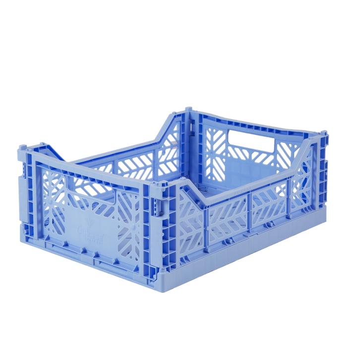 Folding box Midi 40 x 30 cm from Aykasa in baby blue