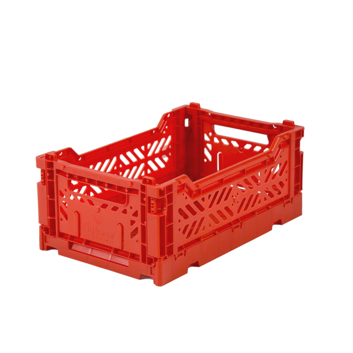 Folding box Mini 27 x 17 cm from Aykasa in red NEW