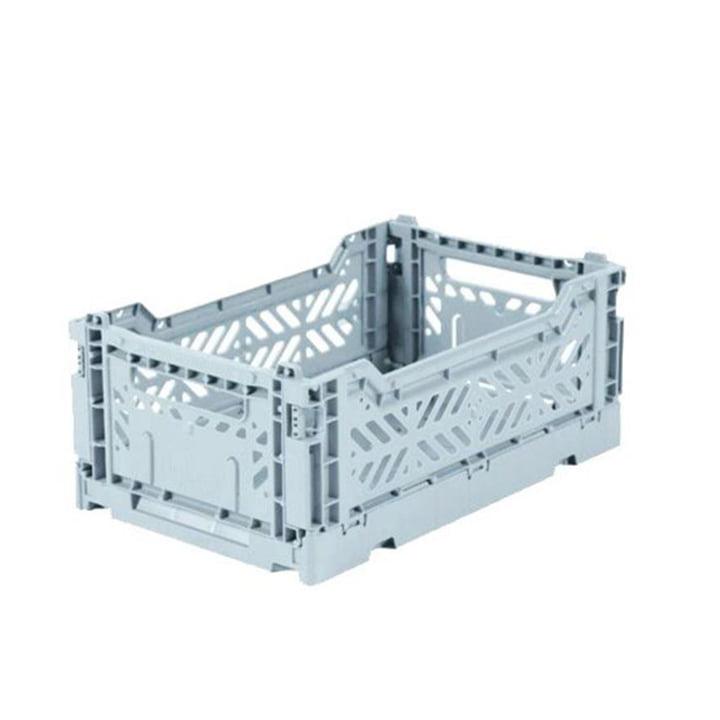 Folding box mini 27 x 17 cm from Aykasa in pale blue