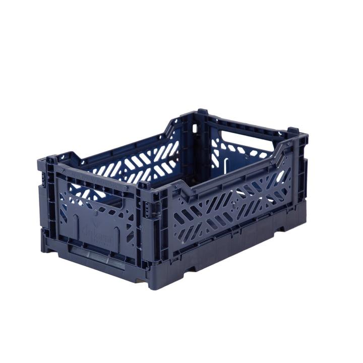 Folding box mini 27 x 17 cm from Aykasa in navy