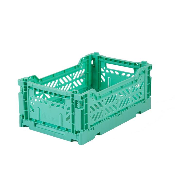 Folding box mini 27 x 17 cm from Aykasa in mint