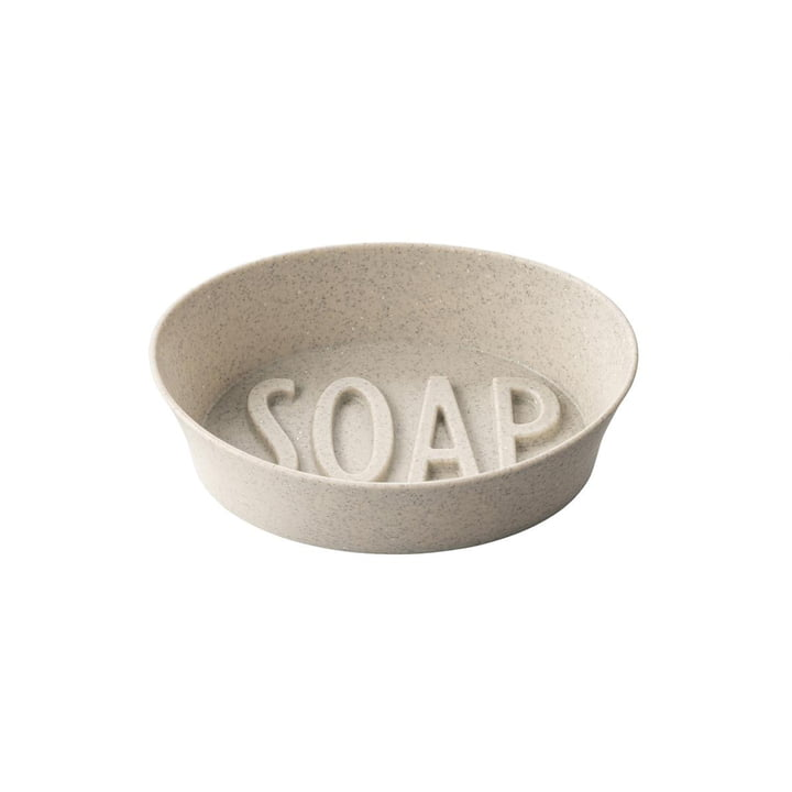 Soap Soap dish (Recycled) from Koziol in the color desert sand