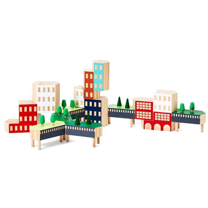 Blockitecture New York City Building blocks from Areaware in the Greenway variant