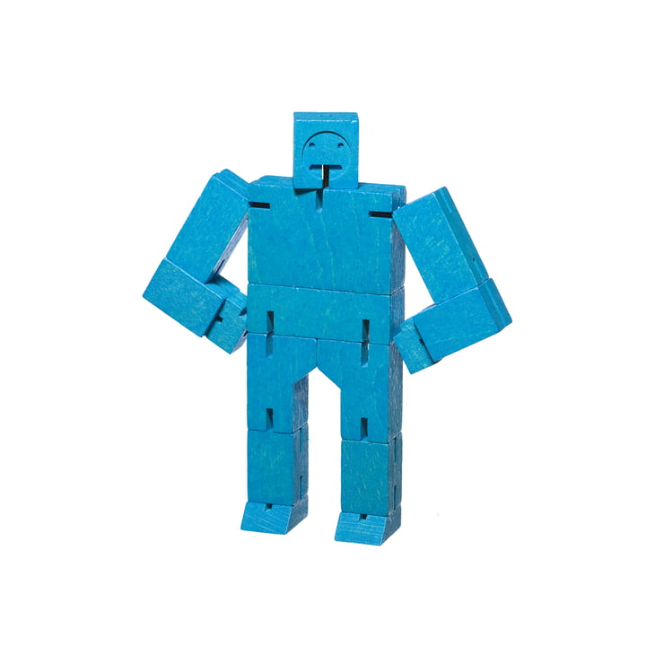 Cubebot small from Areaware in blue