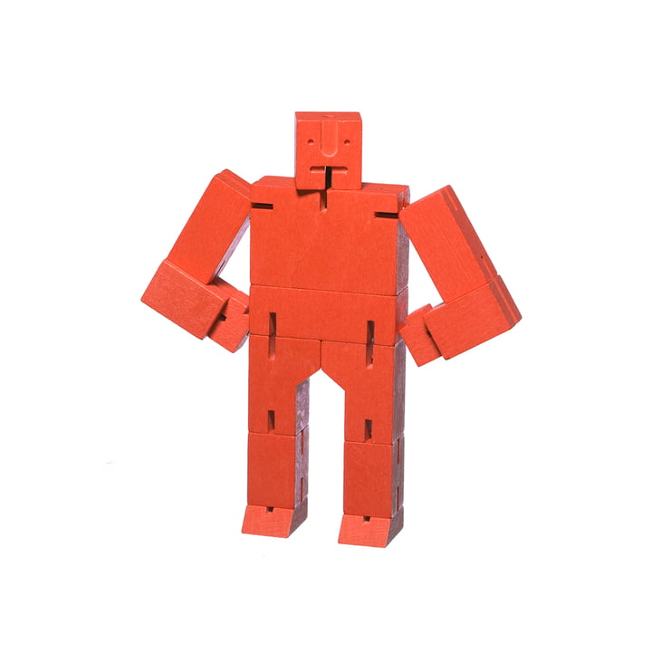 Cubebot small from Areaware in red