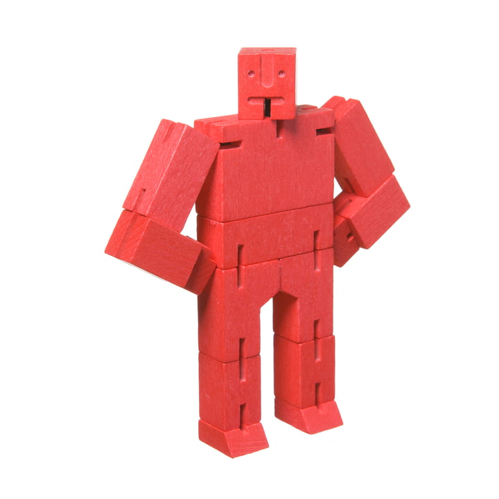 Micro Cubebot from Areaware in red