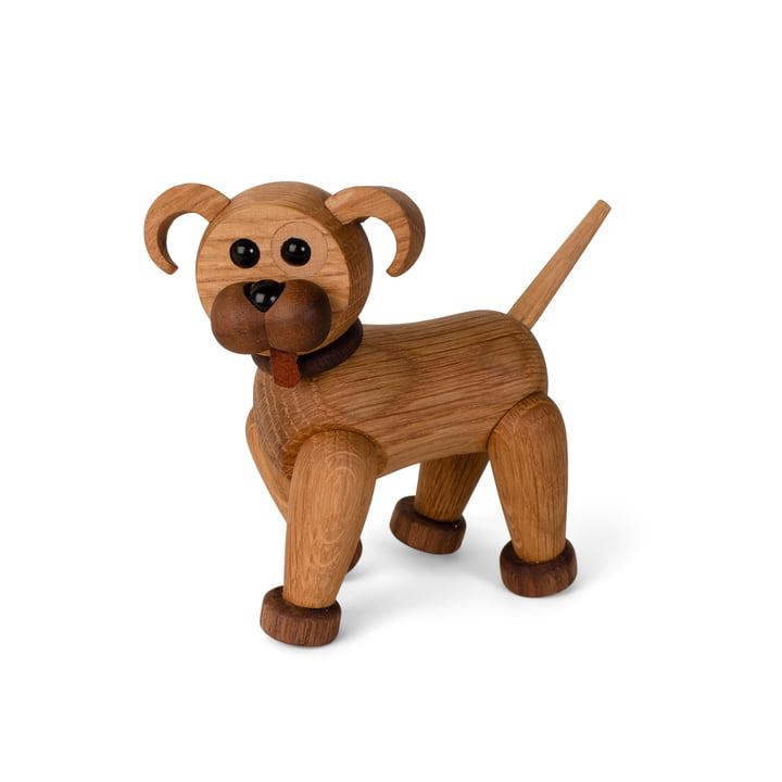 Dog puppy wooden figure Woody by Spring Copenhagen