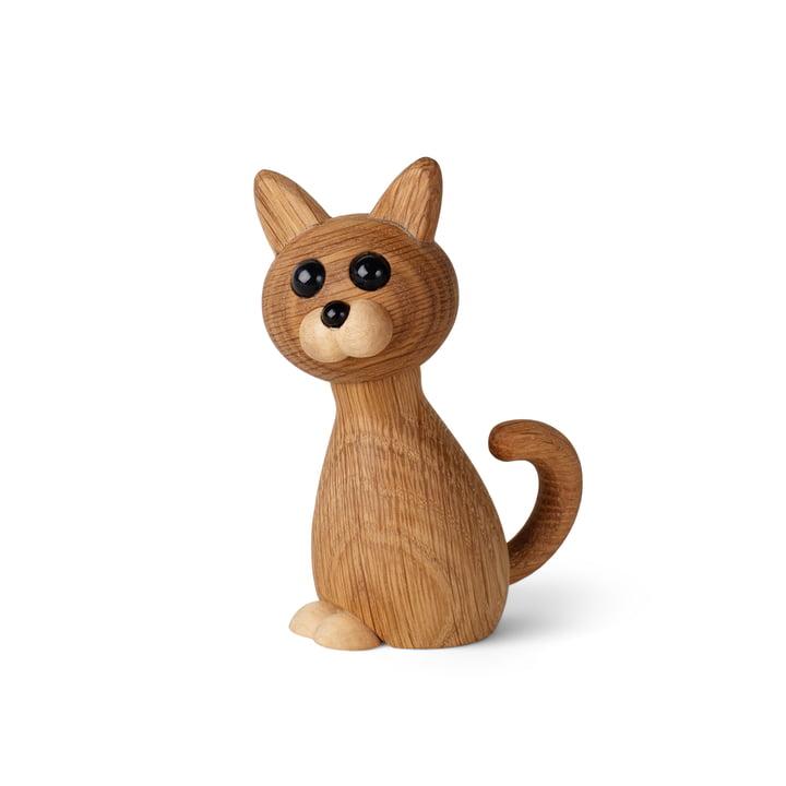 Kitten wooden figure Faith from Spring Copenhagen