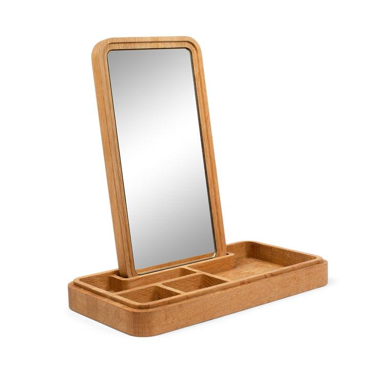Mirror Box Jewellery storage with mirror from Spring Copenhagen in oak nature
