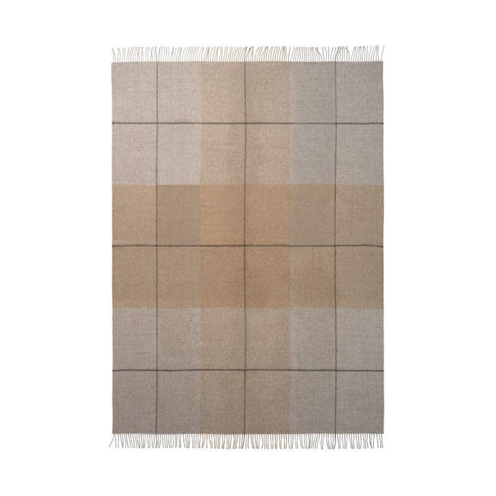 Blocks Blanket 130 x 190 cm from Elvang in camel / grey
