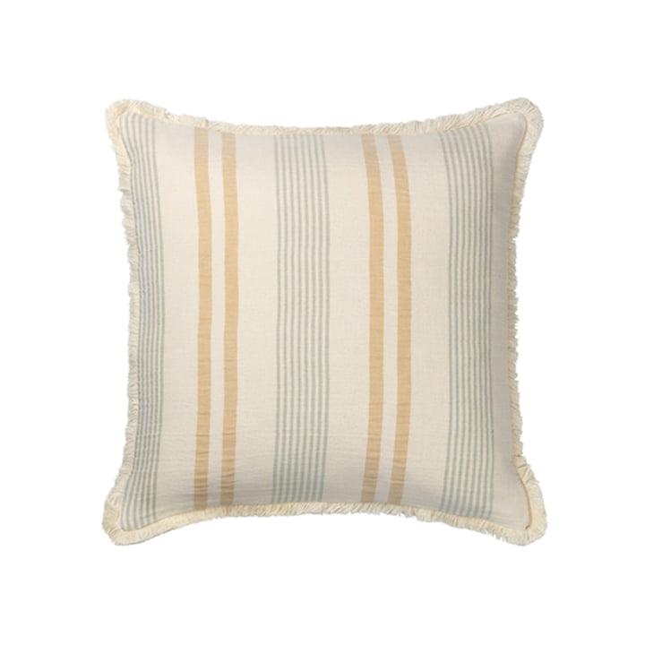 Iris Pillowcase 50 x 50 cm from Elvang in yellow / green