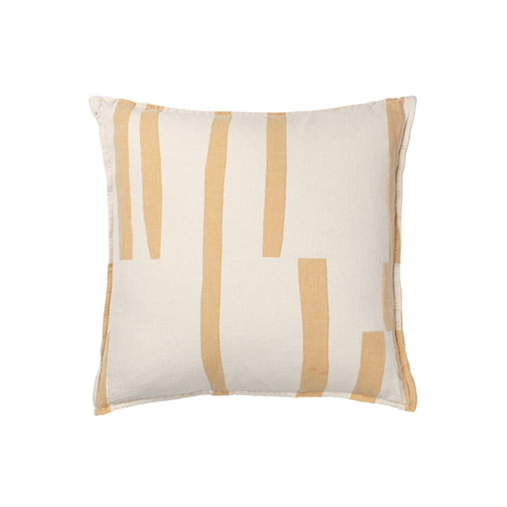 Lyme Grass Pillowcase 50 x 50 cm from Elvang in yellow