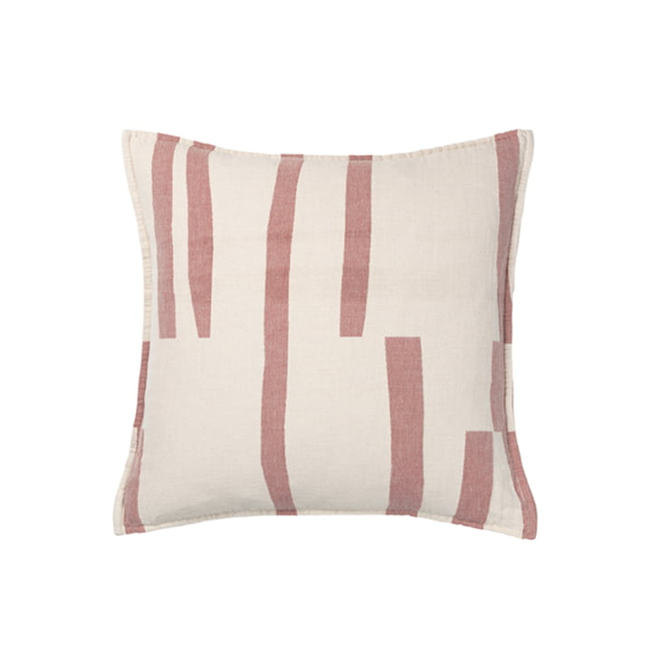 Lyme Grass Pillowcase 50 x 50 cm from Elvang in rusty red