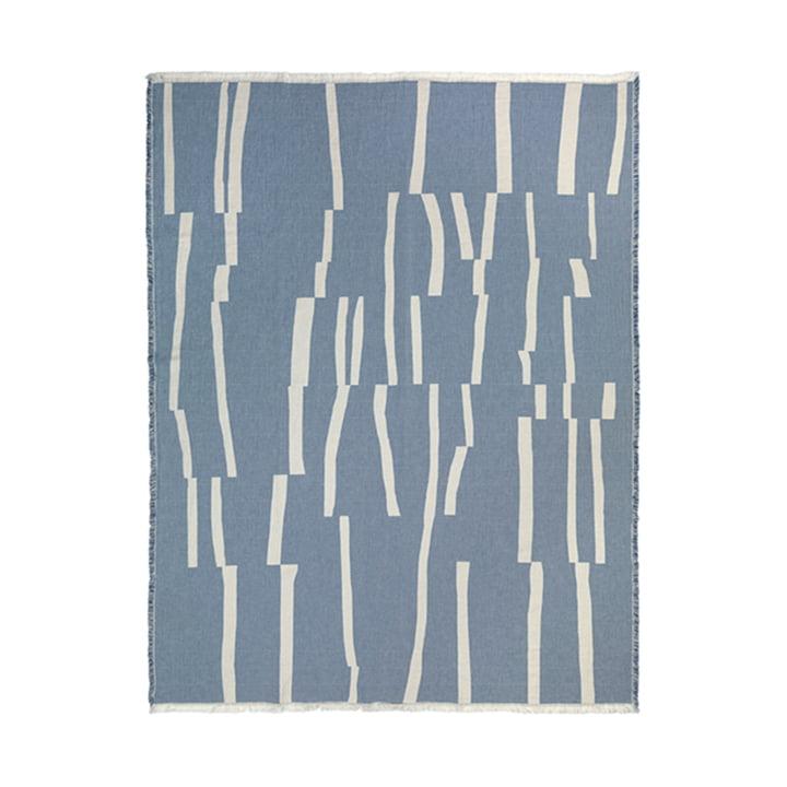 Lyme Grass Blanket 130 x 180 cm from Elvang in blue
