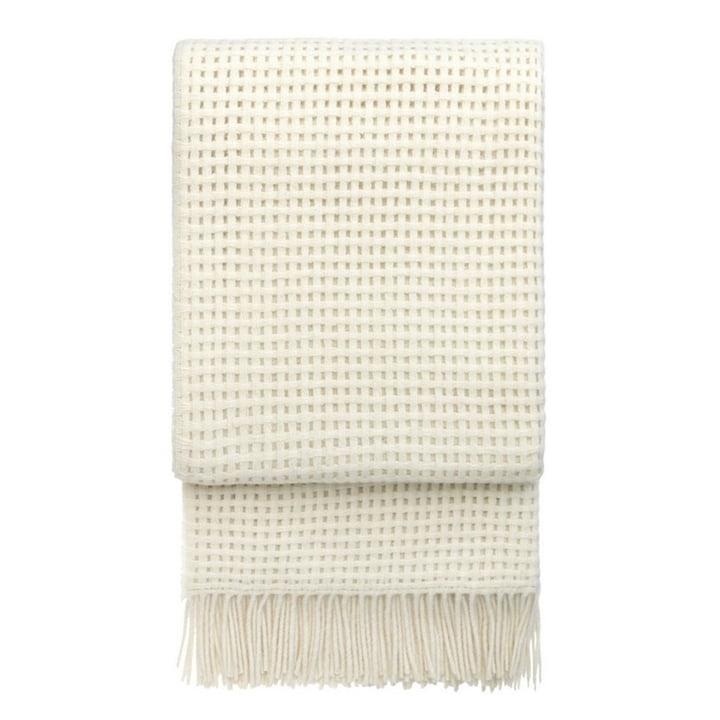 Basket Blanket 130 x 200 cm from Elvang in off white
