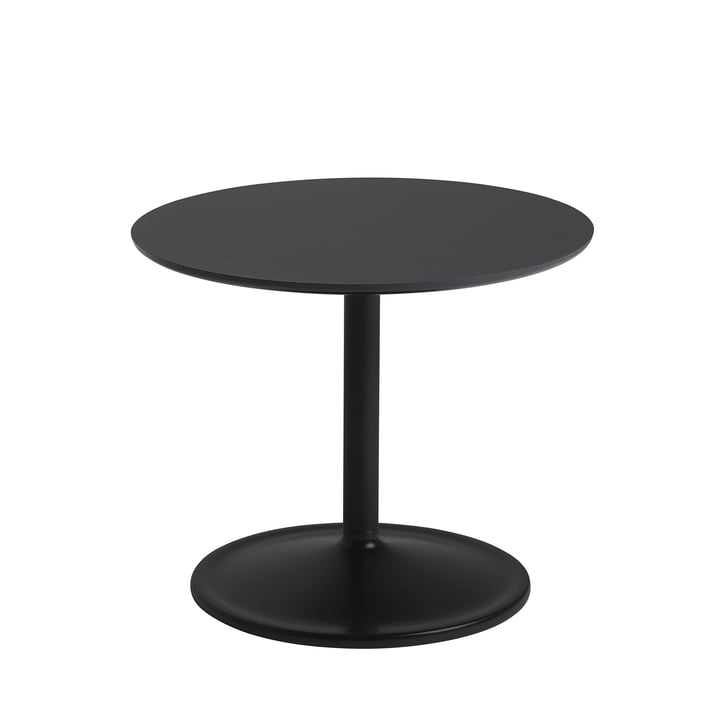 Soft Side table Ø 48 cm, H 40 cm from Muuto in black
