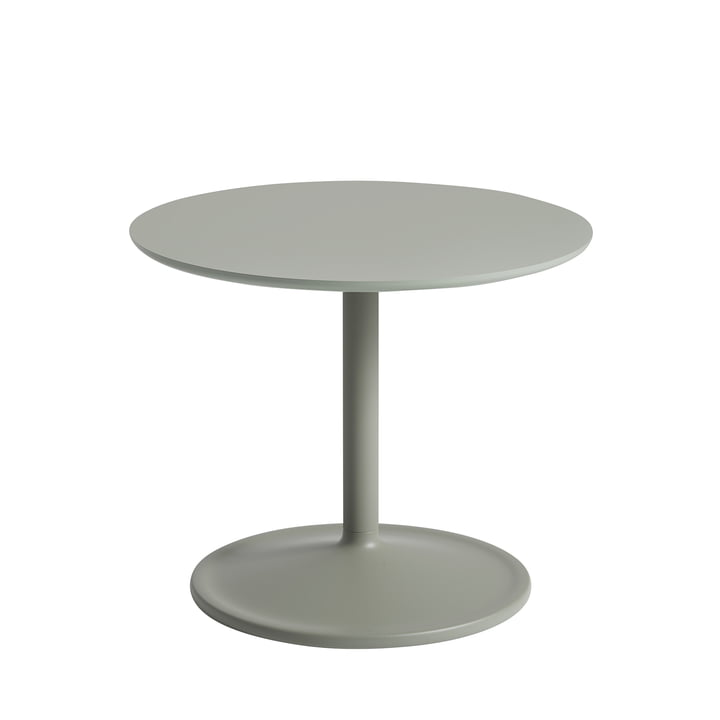 Soft Side table Ø 48 cm, H 40 cm from Muuto in dusty green