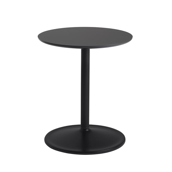 Soft Side table Ø 41 cm, H 48 cm from Muuto in black