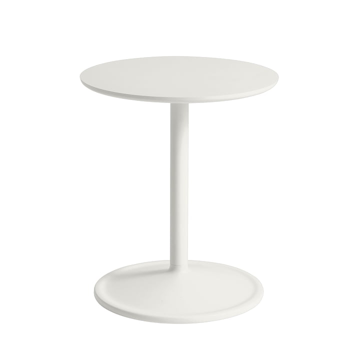 Soft Side table Ø 41 cm, H 48 cm from Muuto in off-white