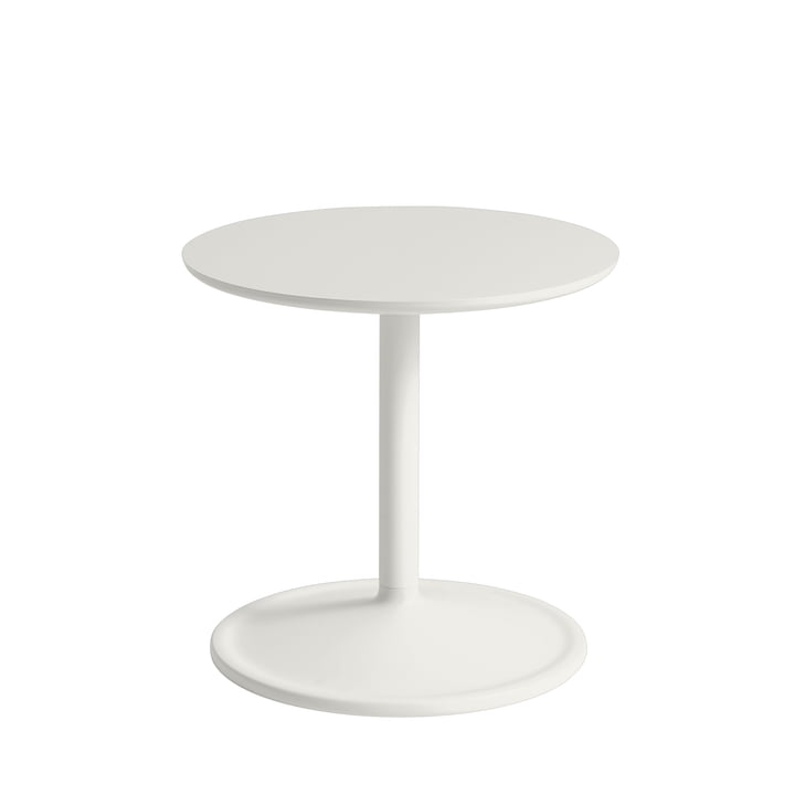 Soft Side table Ø 41 cm, H 40 cm from Muuto in off-white