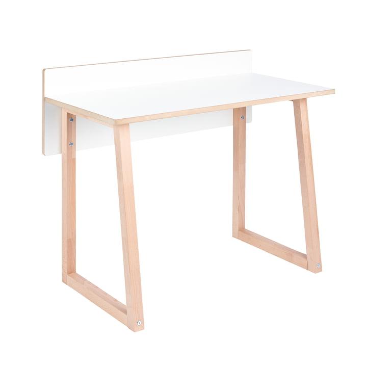 werk Children's desk from Tojo in white / beech