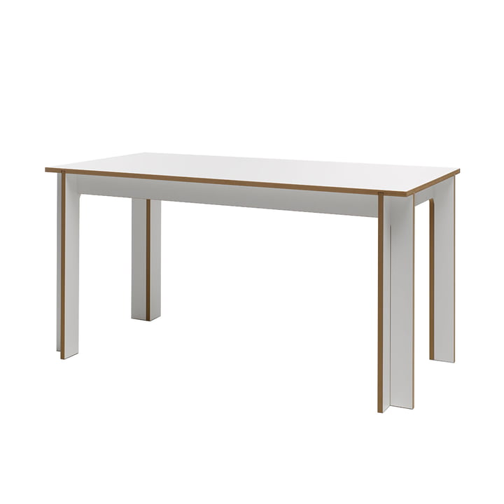 Table 150 x 75 cm from Tojo in white
