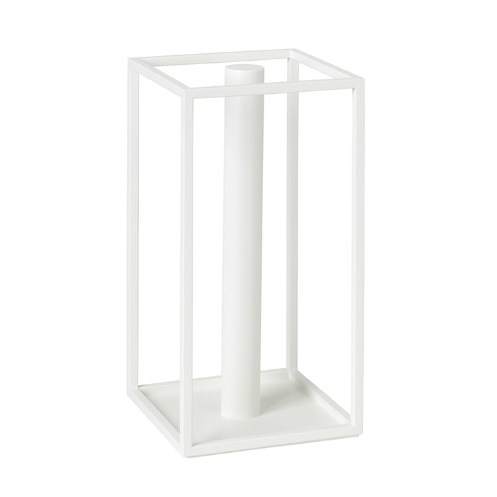 Roll'in kitchen roll holder from by Lassen in white