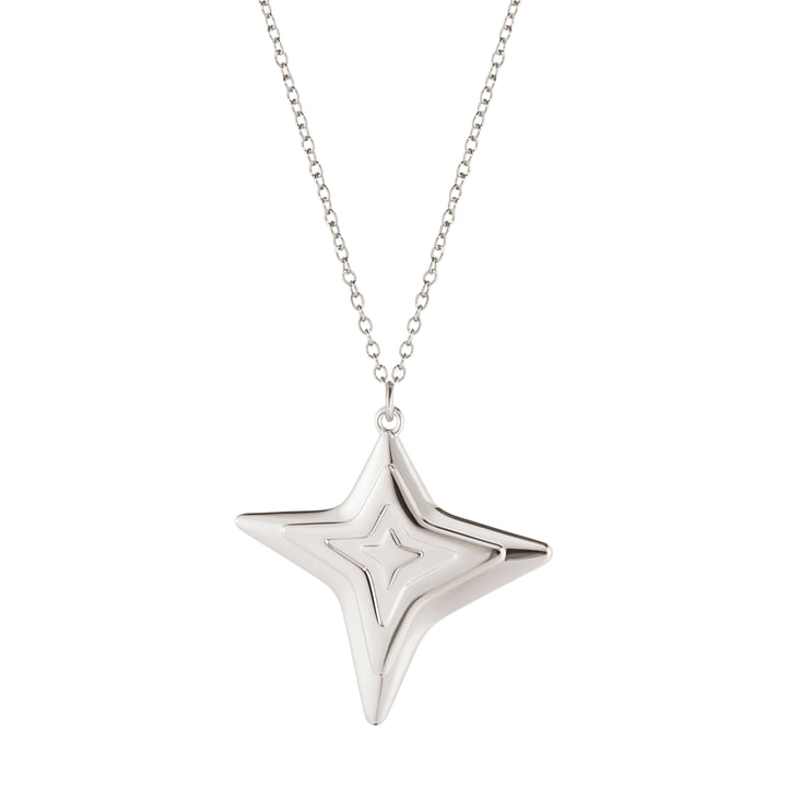 The Ornament Pendant 2021 four star from Georg Jensen , palladium