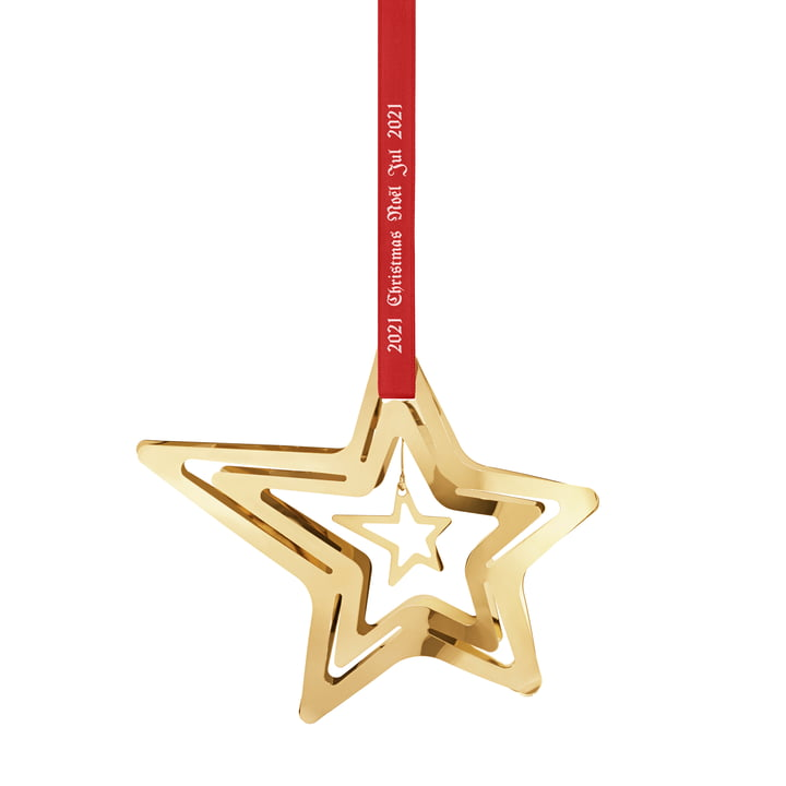 The Christmas mobile 2021 shooting star from Georg Jensen , gold