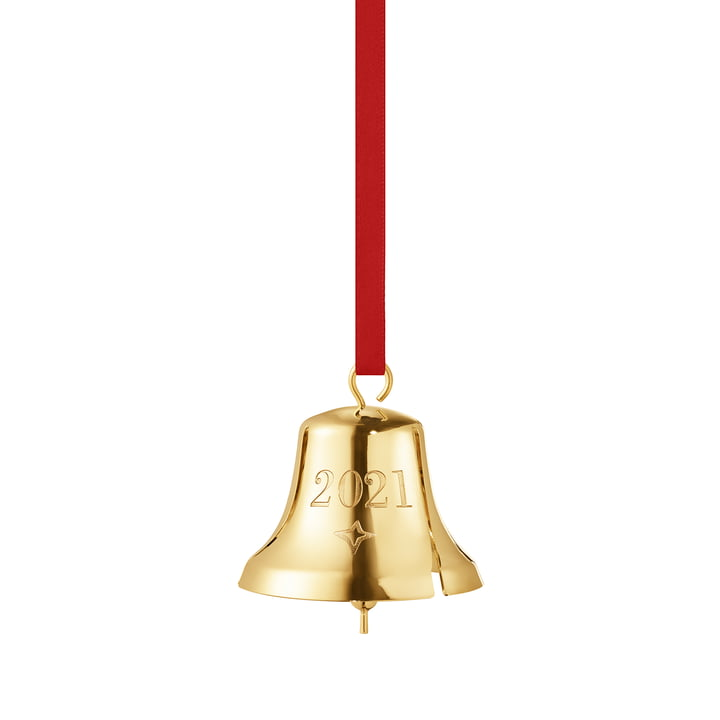 The Christmas Bell 2021 from Georg Jensen , gold