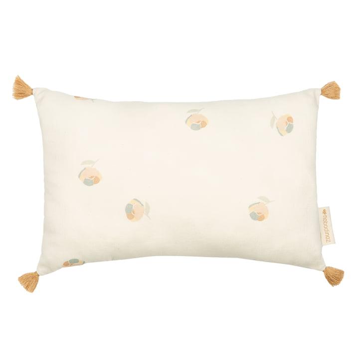 The Sublim cushion from Nobodinoz, 20 x 35 cm, blossom